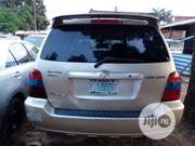 Toyota Highlander 2004 Limited V6 4x4 Silver | Cars for sale in Lagos State, Isolo