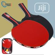 2pcs/Lot Table Tennis Bat Racket Double Face Set With Bag 3 Balls | Sports Equipment for sale in Lagos State, Lekki Phase 1