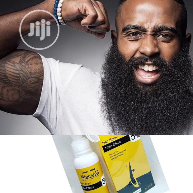 Isner Mile Minoxidil - Softer Beards, Hair Loss, Fuller & Thicker Hair