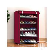 Quality Layers Shoe Rack With A Fabric Cover | Furniture for sale in Lagos State, Ikoyi