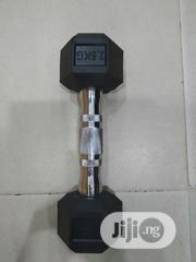 Pair of 2.5kg Hex Dumbbell | Sports Equipment for sale in Lagos State, Mushin