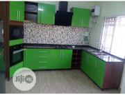 Shiny High Gloss Kitchen Cabinets With Granite Worktop | Furniture for sale in Lagos State, Ilupeju