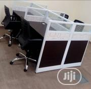 Affordable Office Workstation Table By Four Sitters   Furniture for sale in Lagos State, Surulere