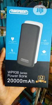 Transparent 20,000mah Power Bank | Accessories for Mobile Phones & Tablets for sale in Oyo State, Egbeda