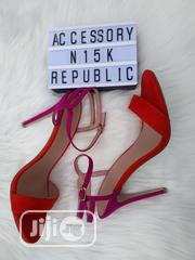 New Look Ankle Strap Stilettos- Orange/Purple [SIZE 41] | Shoes for sale in Lagos State, Ajah