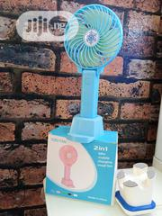 2in 1 Mini Mobile Charging Small Fan | Accessories & Supplies for Electronics for sale in Lagos State, Amuwo-Odofin