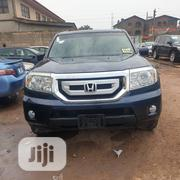 Honda Pilot EX 4dr SUV (3.5L 6cyl 5A) 2010 Blue | Cars for sale in Lagos State, Ikeja