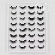 16 In 1 Pairs Handmade False 3D Real Mink Eyelashes | Makeup for sale in Lagos State, Lagos Mainland