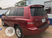 Toyota Highlander 2003 Red   Cars for sale in Lagos State, Ojodu