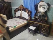 Royal Beds And Dressing Mirror Brown | Furniture for sale in Lagos State, Amuwo-Odofin