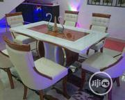 Quality Marble Dinning With 6 Chairs | Furniture for sale in Lagos State, Lekki Phase 2