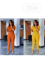 Ladies Rope Belt Jumpsuit | Clothing Accessories for sale in Lagos State, Ikeja