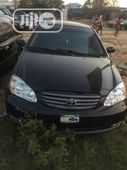 Toyota Corolla 2003 Sedan Automatic Black | Cars for sale in Abuja (FCT) State, Gwagwalada