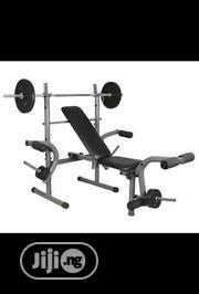 Bench Press With 50kg Weight | Sports Equipment for sale in Lagos State, Yaba
