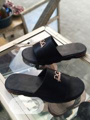 Real Black Leather Cover Palm | Shoes for sale in Lagos State, Orile