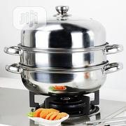 28CM Stainless Steel Steamer Pot Stew Pot 3 Layer Cooking Pot | Kitchen & Dining for sale in Abuja (FCT) State, Central Business District