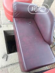 Strong Leather L Seater | Furniture for sale in Lagos State, Ojo