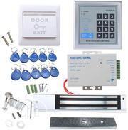 Door Access Control Kit Power Supply Keypad 10 Keyfobs EXIT Button | Accessories & Supplies for Electronics for sale in Lagos State, Ikeja