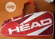 Tennis Racket Bag Red   Sports Equipment for sale in Lagos State, Lekki Phase 2