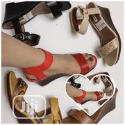 Big Strap Wedge Sandal | Shoes for sale in Lagos State, Ikoyi