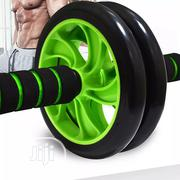2019 Double-wheeled Updated Ab Abdominal Wheel Rollers Ab Roller | Sports Equipment for sale in Lagos State, Victoria Island