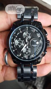 Tissot Black Men's Wrist Watch | Watches for sale in Lagos State, Surulere