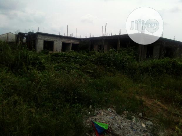Archive: A Duplex Still Under Construction At Rumuagholu, Ph For Sale