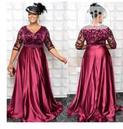 Turkey Wine Colour Ceremonial Dress | Clothing for sale in Lagos State, Lagos Island