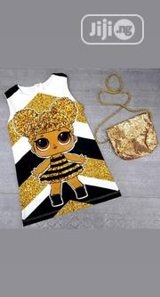 Girls Dress With Handbag | Children's Clothing for sale in Lagos State, Ikorodu