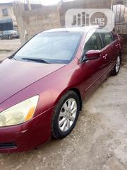 Honda Accord 2007 Sedan SE V-6 Automatic Red | Cars for sale in Lagos State, Yaba