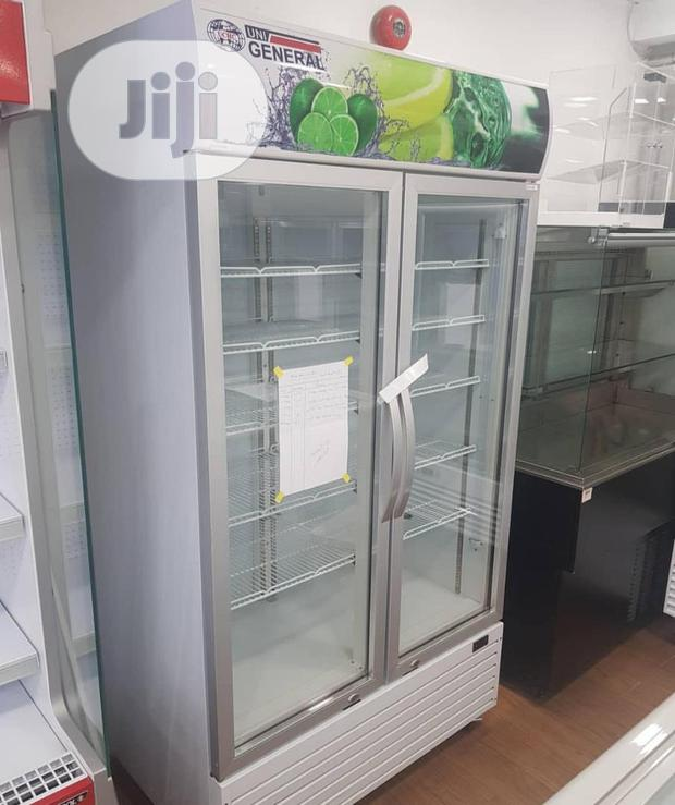 Double Door Showcase Fridge