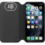 Apple Leather Folio Case iPhone 11 Pro Max) - Black | Mobile Phones for sale in Lagos State, Ikeja