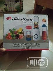 Brand New Binatone 3-In-1 Sporty Blender Grinder and Smoothie Maker | Kitchen Appliances for sale in Abuja (FCT) State, Karu