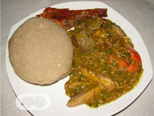 Image result for eba and soup