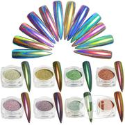 1 Piece Box of Colorful Holographic Sugar Pigment Nail Art Rhinestone | Makeup for sale in Lagos State, Lagos Mainland