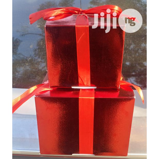 2 Piece Gift Box With Ribbons