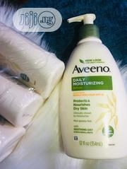 Aveeno Daily Moisturizer With SPF 15 | Skin Care for sale in Lagos State, Ikeja