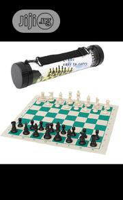 Tournament Chess Set Game With Portable Travel Carrier Box | Books & Games for sale in Lagos State, Surulere