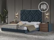 Luxury Velvet Frabic Upholstery Queen Bed's   Furniture for sale in Lagos State, Lekki Phase 2