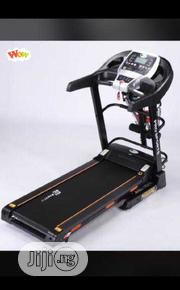2.5hp Electric Treadmill With Massager Bodyfit Dumbbells Etc | Sports Equipment for sale in Lagos State, Lekki Phase 1