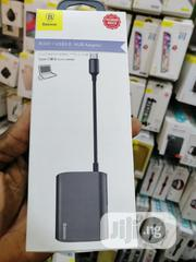 Enjoyment Series Hub Converter RJ45 +HDMI +USB3.0 To Type-c | Computer Accessories  for sale in Lagos State, Ikeja