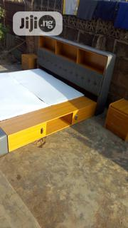 Bed Frame Comprising With Drawer And Bookshelf, Then 2bed Side | Furniture for sale in Oyo State, Ido
