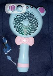 Fancy Hand-held Portable Fan With 2 Speed | Home Accessories for sale in Akwa Ibom State, Uyo