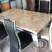 Stuning Marble Top Dining Table | Furniture for sale in Lagos State, Victoria Island