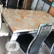Sublime Marble Top Dining Table | Furniture for sale in Lagos State, Victoria Island