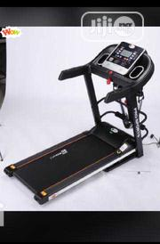 2.5hp Bodyfit Treadmill With Massager, Dumbbell Etc | Sports Equipment for sale in Lagos State, Victoria Island