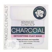 Charcoal Detoxifying Mask With Rose Water 156g | Skin Care for sale in Lagos State, Ifako-Ijaiye
