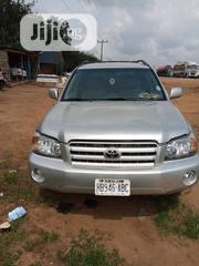 Toyota Highlander 2004 Silver   Cars for sale in Delta State, Warri South