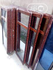 Wood Finishing Aluminum Sliding Windows | Windows for sale in Lagos State, Lagos Mainland