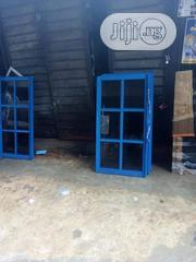Nice Blue Aluminum Sliding Windows | Windows for sale in Lagos State